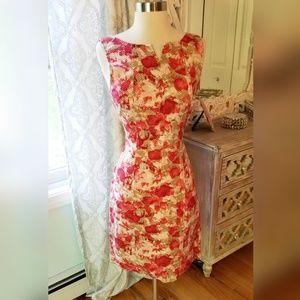 Floral Print Talbots Dress